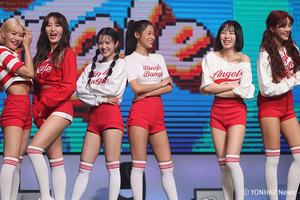 AOA新专辑带动人气 6月女团品牌价值第三位