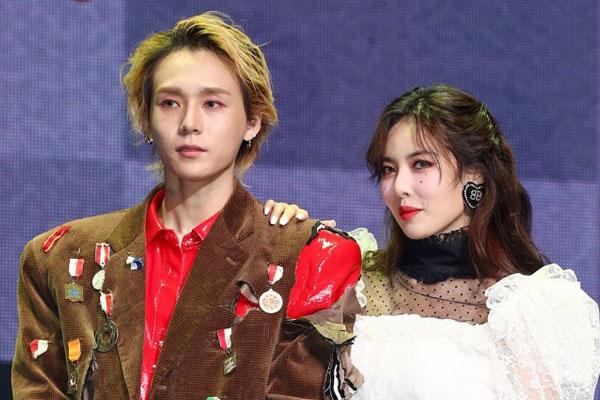 泫雅&DAWN情侣双双发新单回归 共同举行Showcase