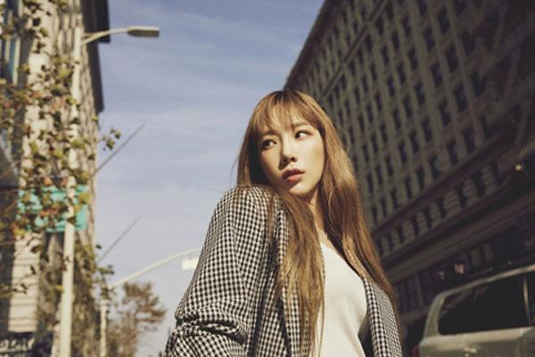 太妍发行再版专辑 主打歌《想对我说》唱给自己