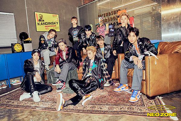 NCT 127正规二辑横扫唱片销量榜