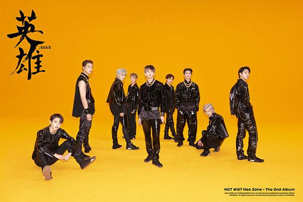 "NCT 127连续3周进入美国""Billboard 200"" 排名102位"