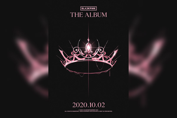 BLACKPINK首张正规专辑将于10月2日发行