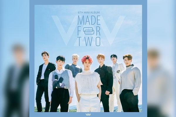 VAV发行全新专辑《MADE FOR TWO》 成员将陆续入伍