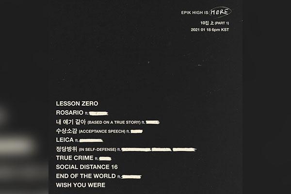 Группа Epik High возвращается с новым альбомом