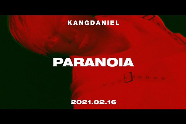 """姜丹尼尔""""极致""""新单《PARANOIA》发行"""