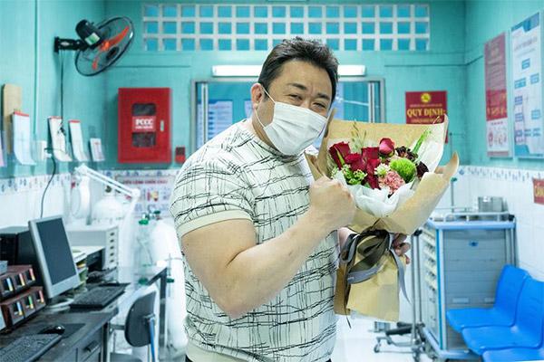 Актёр Ма Дон Сок завершил съёмки в фильме «Лица вне закона 2»