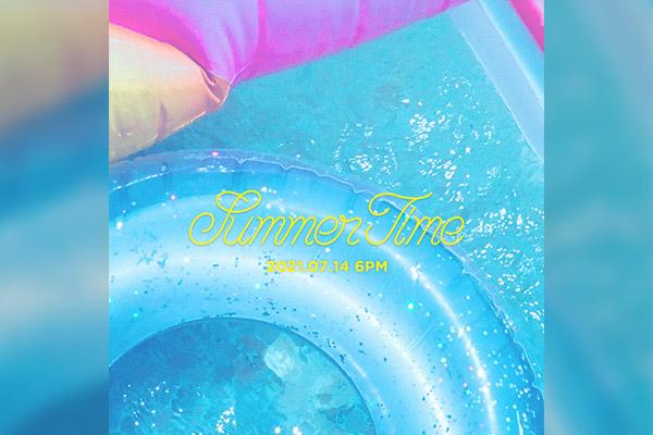 朴誉恩时隔近1年再发新单曲《Summertime》