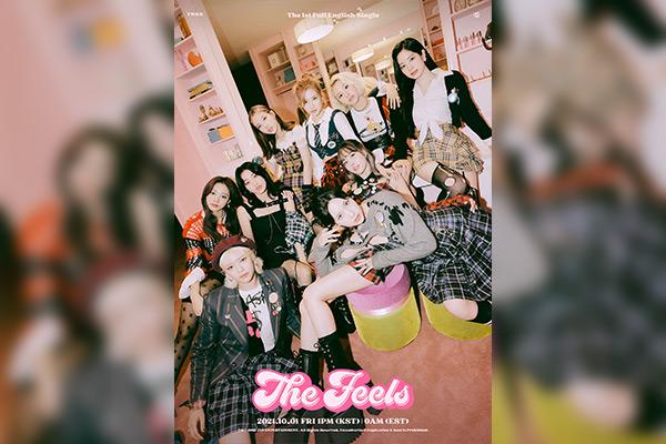 Группа TWICE выпускает первый сингл на английском языке
