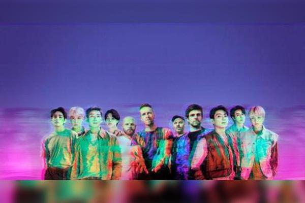 """防弹少年团凭与Coldplay合唱曲《My Universe》再登""""Hot100""""榜首"""