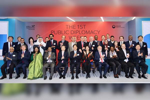 خمس دول عربية تشارك في معرض الدبلوماسية العامة