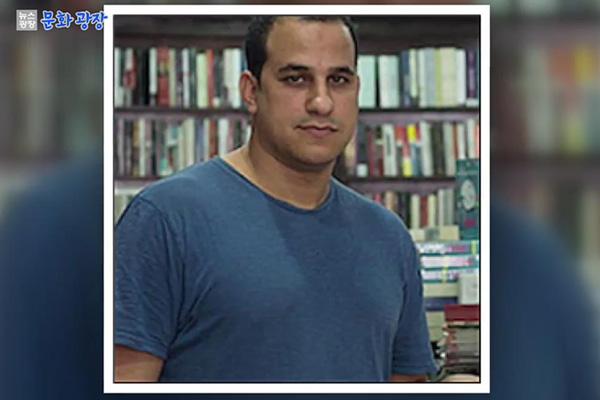 خالد لطفي يفوز بجائزة فولتير