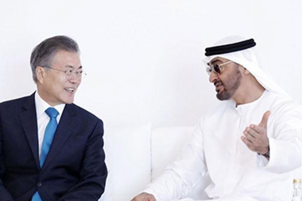 الرئيس الكوري ممتن للإمارات لدورها في تحرير مواطن كوري