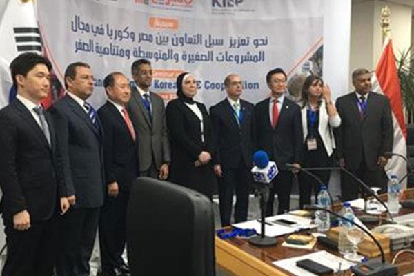 منسق الشؤون الاقتصادية بوزارة الخارجية الكورية يقوم بزيارة للقاهرة