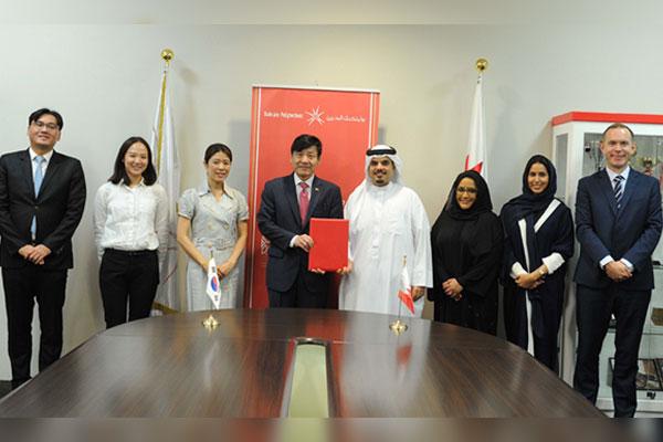 كلية البحرين التقنية تدرج اللغة الكورية من ضمن موادها الدراسية
