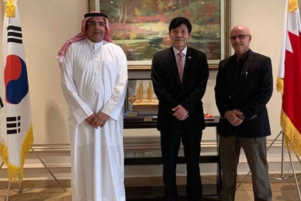 رئيس اتحاد التيكوندو البحريني يبحث مع السفير الكوري سبل تطوير رياضة التيكوندو في البحرين