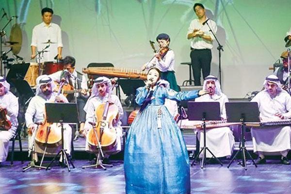 أمسيات فنية كورية إماراتية مشتركة على مسرح المجمع الثقافي بأبوظبي