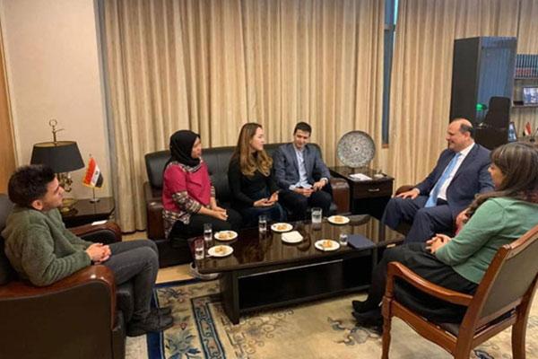 الشباب في كوريا يبدي تقديره للسفير المصري لدى سيول على نجاح منتدى شباب العالم