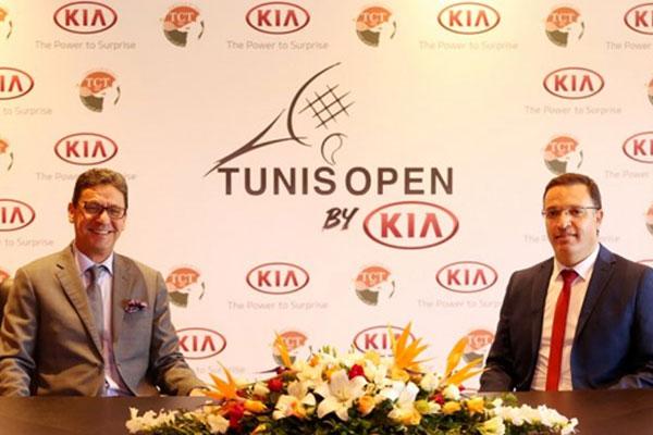 كيا تصبح الراعي الرئيسي لدورة تونس المفتوحة للتنس
