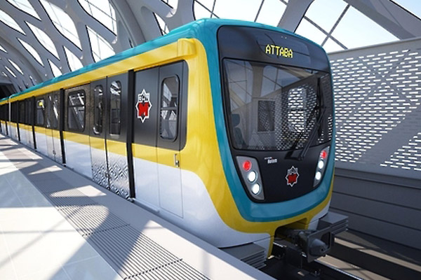 هيون ديه روتيم تورد 8 عربات قطار للخط الثالث إلى مصر