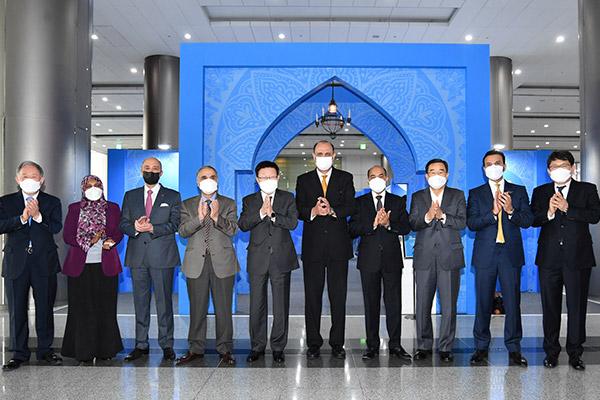 رئيس اتحاد التجارة الكوري يبحث مع السفراء العرب توسيع نطاق التعاون