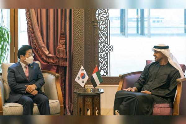 رئيس البرلمان الكوري يزور الإمارات العربية المتحدة والبحرين