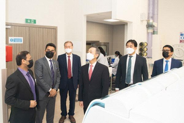 إم إم كي غلوبال تصدر تقنية طبية كورية إلى الإمارات