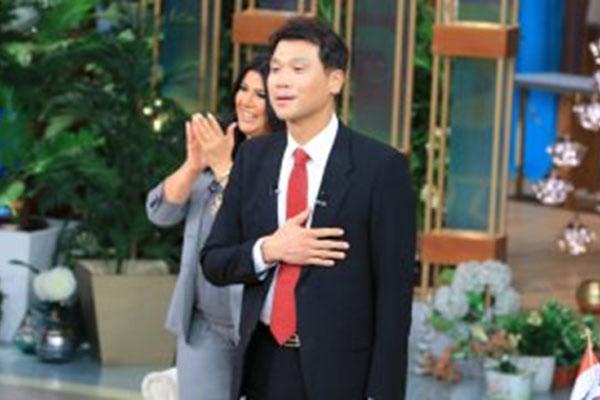 استضافة السفير الكوري لدى مصر في برنامج تلفزيوني شهير