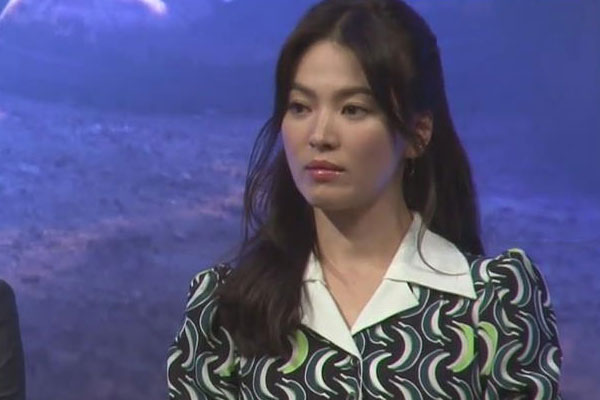 粉丝为宋慧乔制作庆生视频 于纽约时代广场播放