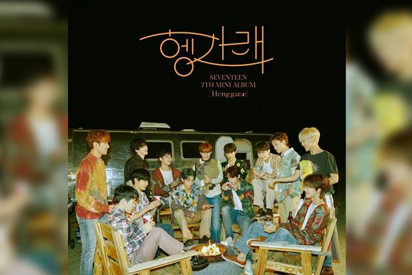 SEVENTEEN登日本公信榜周榜榜首 创韩国男歌手之最