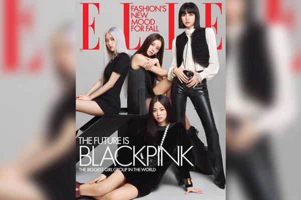 BLACKPINK登美版《ELLE》10月刊封面