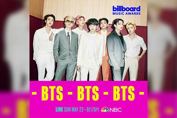 BTS连续4年在公告牌音乐奖表演 将首次公开新曲《Butter》舞台