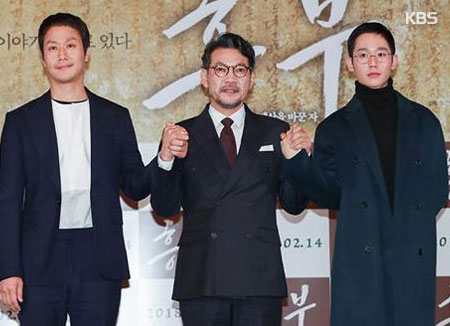 电影《兴夫》2月14日上映 试映会上演员齐齐悼念金柱赫