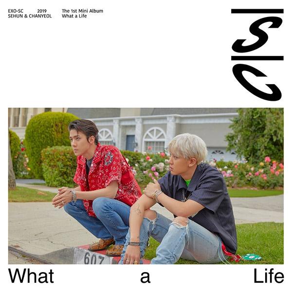 Новый проект-дуэт основной группы 'EXO' выпустил дебютный диск