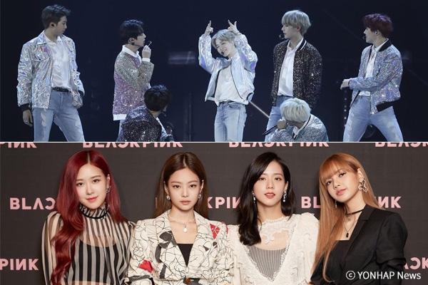 """BTS und Black Pink entwickeln sich zu """"K-Pop-Legenden"""""""