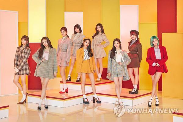 Twice sind die erfolgreichsten Sängerinnen in Japan
