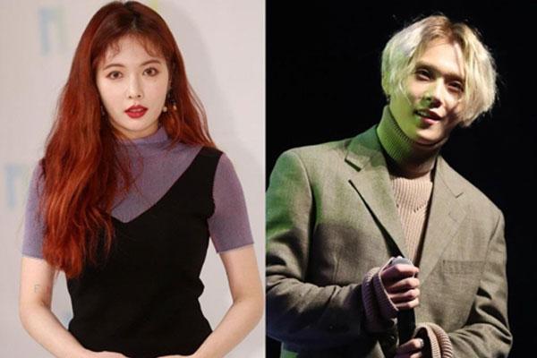 HyunA dan E'Dawn 'Pentagon' akui berpacaran