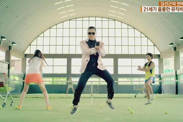 تصنيف عدد من الفيديوهات الموسيقية للأغاني الكورية ضمن قائمة بيلبورد