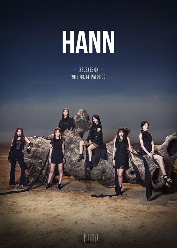 (G)I-DLE 新曲「HANN」でチャート1位
