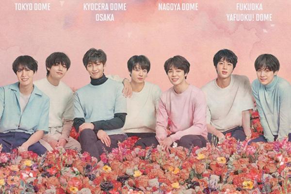 BTS fera sa première tournée aux dômes japonais