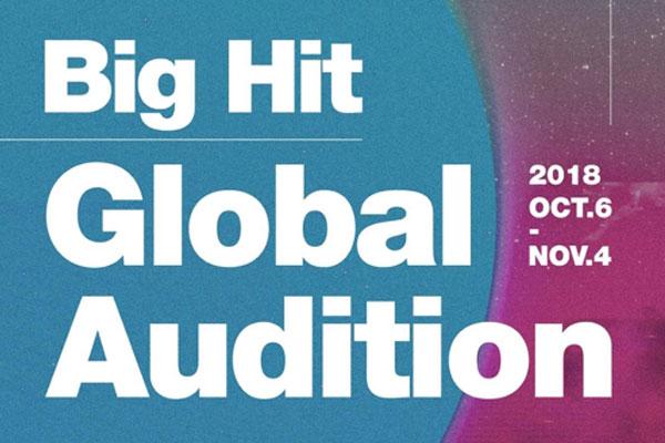 Big Hit Entertainment organisera une série d'auditions à l'étranger