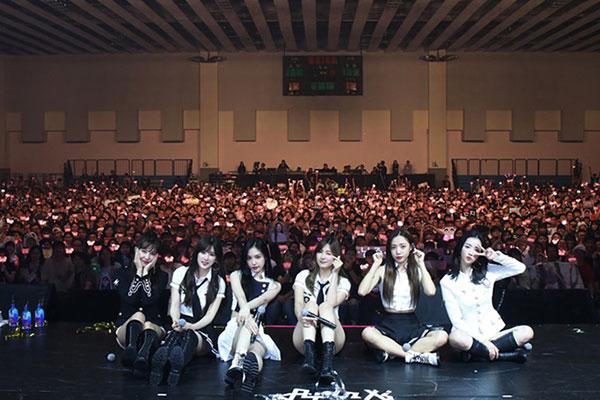 Apink veranstaltet erfolgreiches Konzert in Taiwan