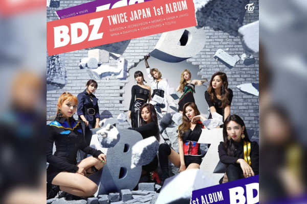 TWICE's first full-length Japanese album goes platinum