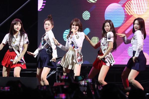 Red Velvet s'attaque aux Etats-Unis
