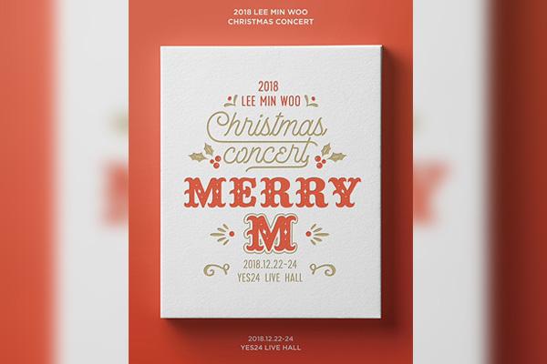 Lee Min-woo de Shinhwa donnera un concert solo intitulé « Merry M »