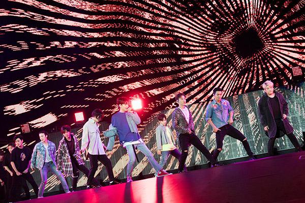 Super Junior reúne a 2 millones de espectadores