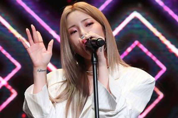Heize opens YouTube channel