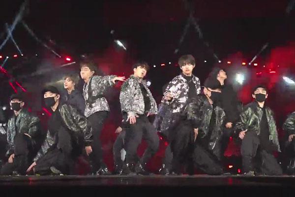 BTS tritt in Busan auf