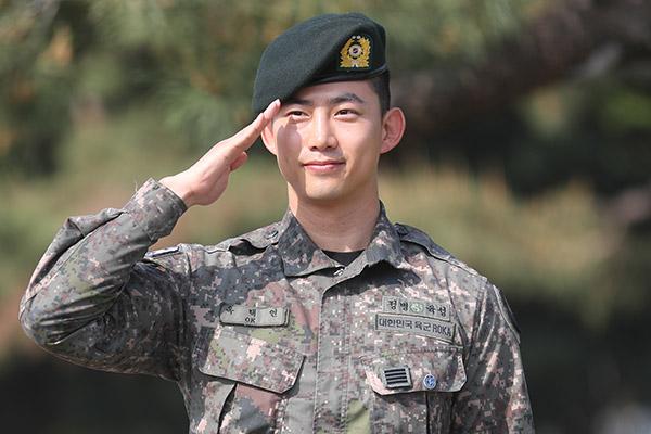 Ok Taec Yeon finaliza el servicio militar