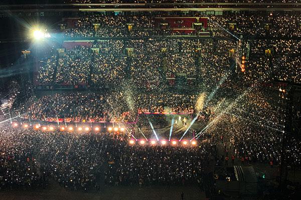60.000 Fans versammeln sich für das BTS-Konzert in London