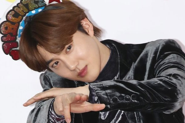 Su-ho promeut le Festival international de la comédie musicale de Daegu